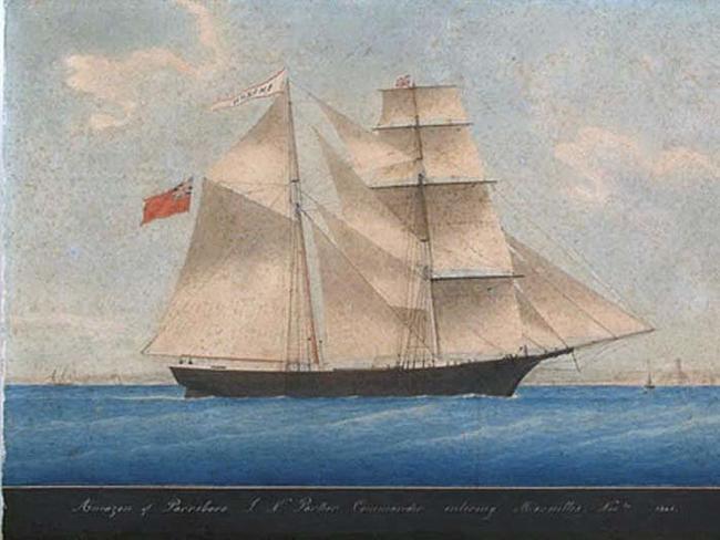 1.) The Mary Celeste.