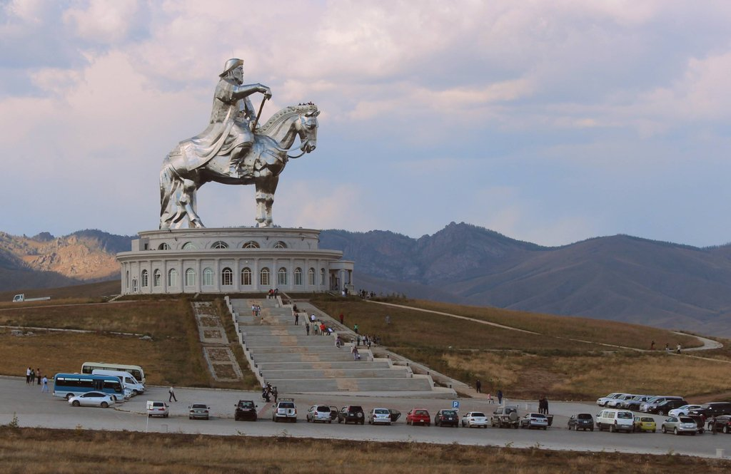 5. The Tomb of Genghis Khan: Genghis Khan asked to be buried without markings. After he died, his body was returned to Mongolia and presumably to his birthplace in the Khentii Aimag, where many assume he is buried somewhere close to the Onon River. According to one legend, the funeral escort killed anyone and anything that crossed their path, in order to conceal where he was finally buried. After the tomb was completed, the slaves who built it were massacred, and then the soldiers who killed them were also killed. The Genghis Khan Mausoleum is his memorial, but not his burial site. The location of his burial to this day still remains a mystery.
