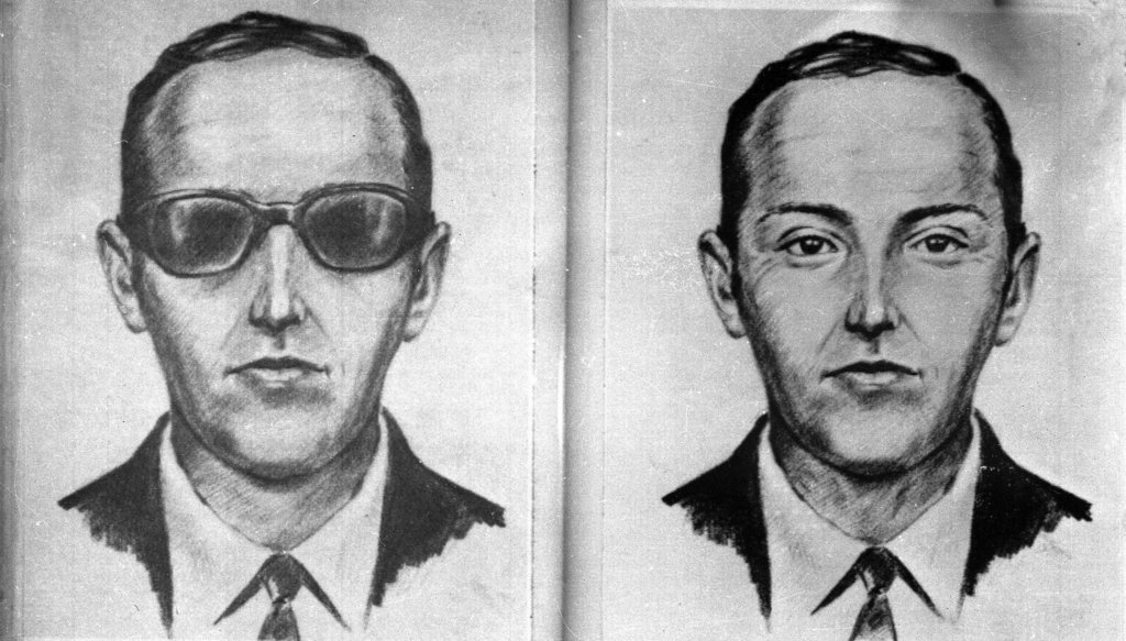 3. The D.B. Cooper Hijacking: D. B. Cooper is a media epithet popularly used to refer to an unidentified man who hijacked a Boeing 727 aircraft in the airspace between Portland, Oregon, and Seattle, Washington, on November 24, 1971, extorted $200,000 in ransom, and parachuted to an uncertain fate. Despite an extensive manhunt and an ongoing FBI investigation, the perpetrator has never been located or positively identified. The case remains the only unsolved air piracy in American aviation history. The discovery of a small cache of ransom bills in 1980 triggered renewed interest but ultimately only deepened the mystery, and the great majority of the ransom remains unrecovered.