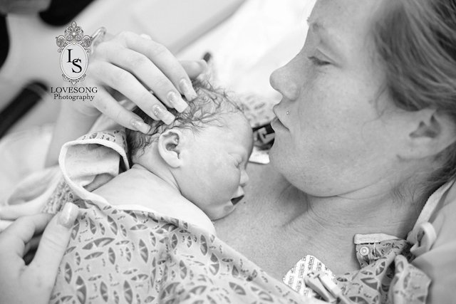 Monroe Faith Staley was born at 6 pound 2.5 ounce. She spent a precious few hours with her parents that day.