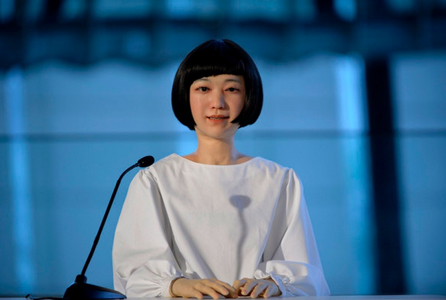 8.) Kodomoroid: The Robot That Will Read The Robot News.