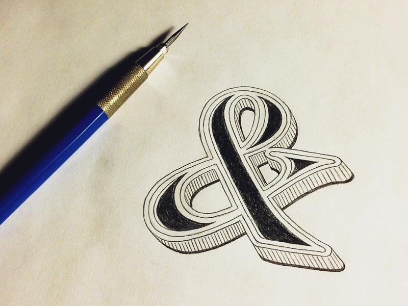 19) Ampersand.