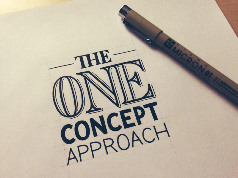 21) The One Concept Approach.