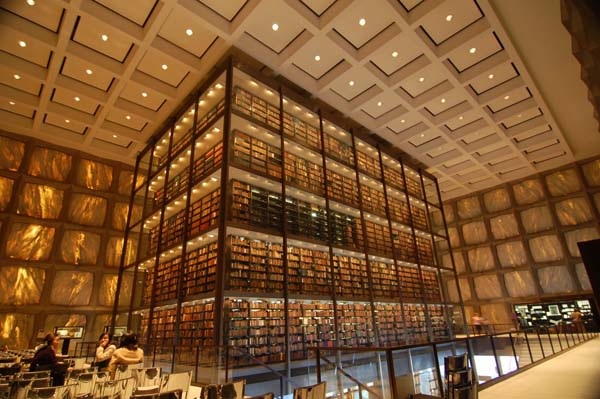 1.) Beinecke Library