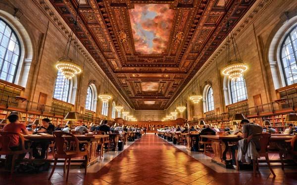 4.) New York Public Library