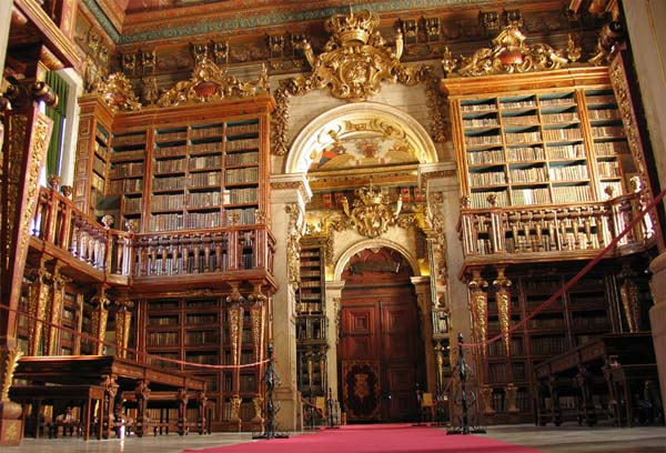7.) University of Coimbra Library
