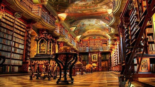 8.) Prague Clementinum (National Library)