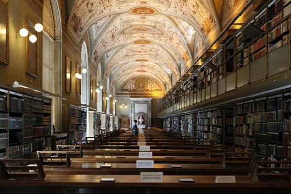 9.) The Vatican Apostolic Library