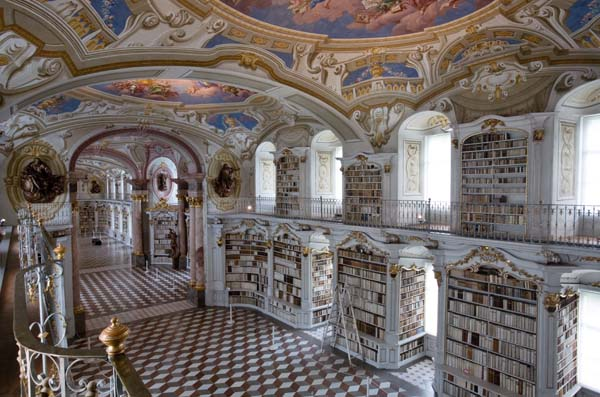 12.) Admont Abbey Library