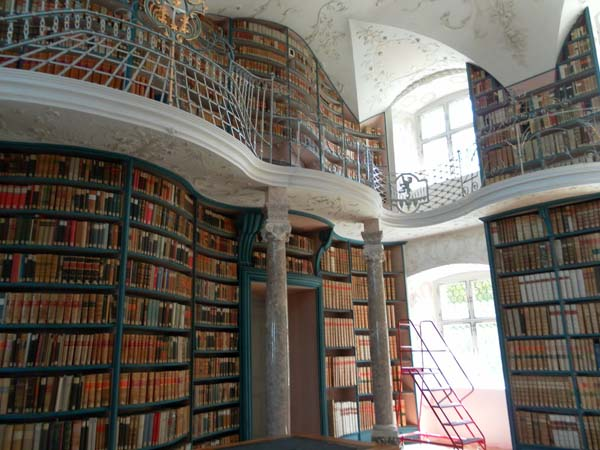13.) Our Lady of Einseldeln Archabbey Library