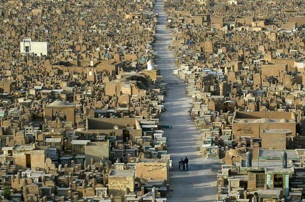 There are more bodies in here than most cities' populations.