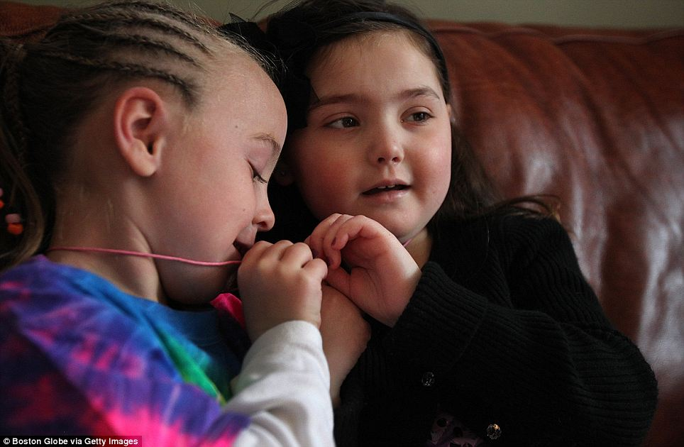 She and her best friend, Lilah, got best friend necklaces so that their bond would always be remembered.