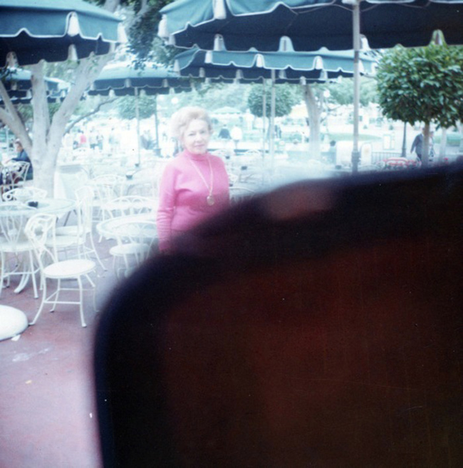 I think she knew the finger was covering the lens.