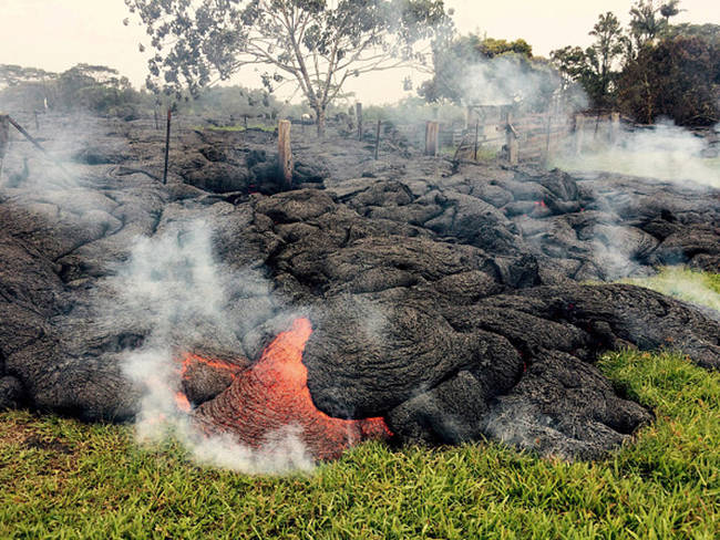 Nearly 1,000 people currently live in the town of Pahoa on Hawaii's Big Island.