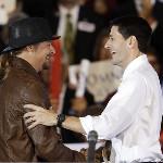 Paul Ryan with Kid Rock tonight. via the AP on Twitpic