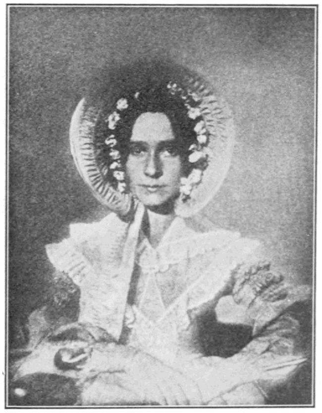 3.) A photograph of Dorothy Catherine Draper, John Draper's sister.
