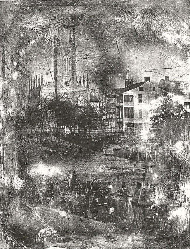 6.) A daguerreotpye that is known as the first known photograph of Wilmington.