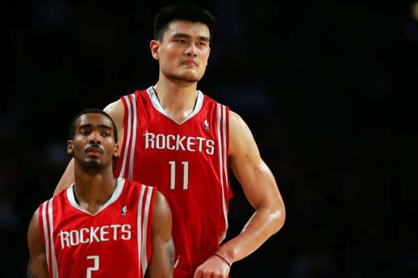 4.) His teammates looked tiny.