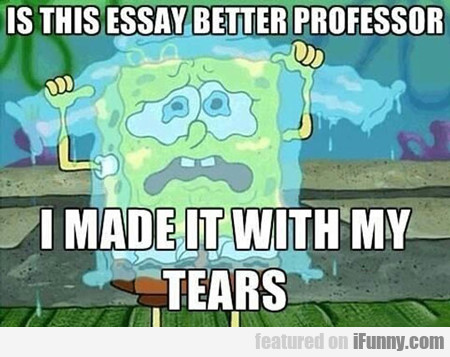 Is This Essay Better Professor...