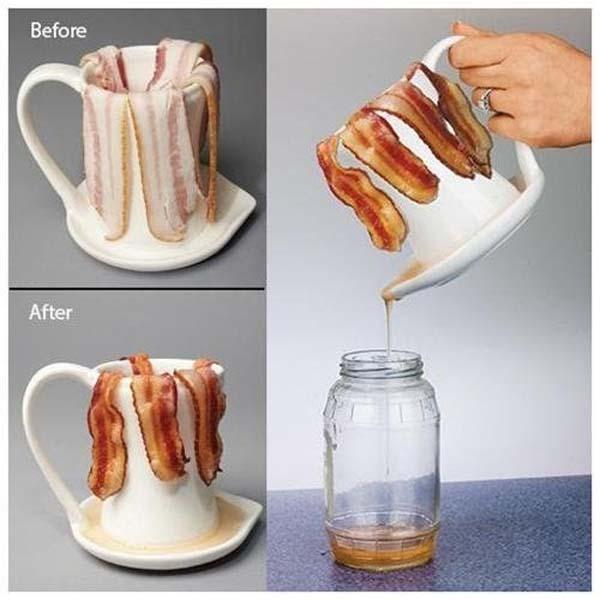 2.) No, it's not a coffee mug. It's way better.