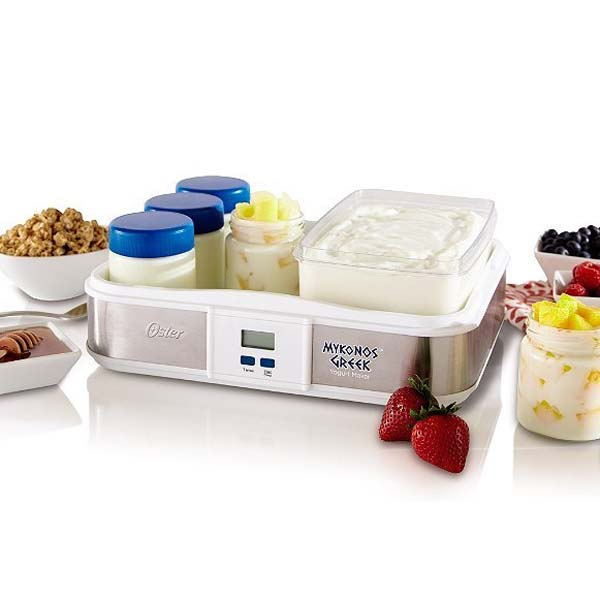 6.) Don't just buy Greek yogurt. Make it.