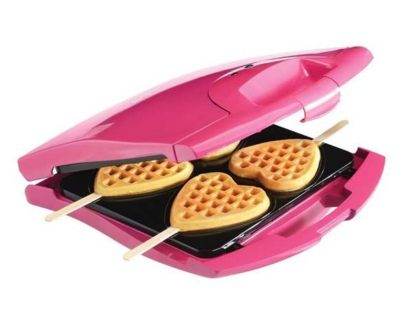 11.) Who wouldn't want waffle suckers?