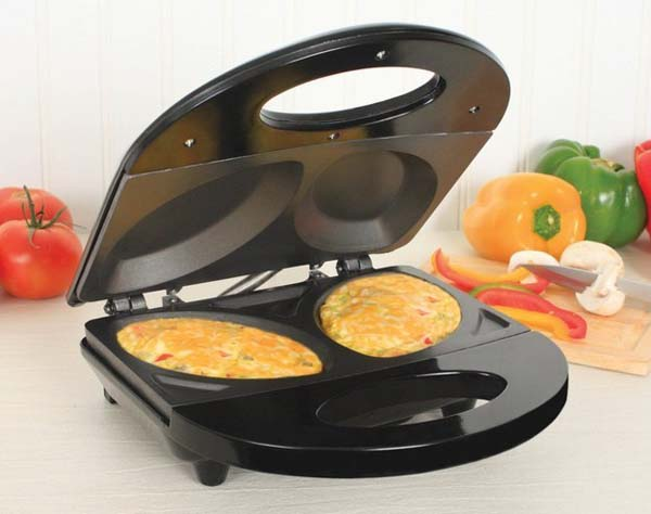 16.) Flipping omelettes is so plebeian.