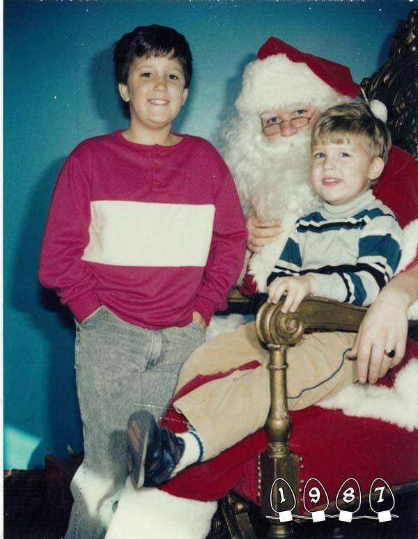 Santa might have raised an eyebrow...