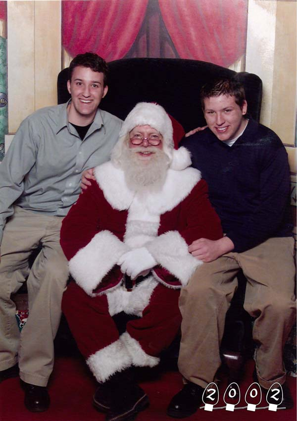 There's nothing like seeing your children grow up, even if they can't fit on Santa's lap anymore.