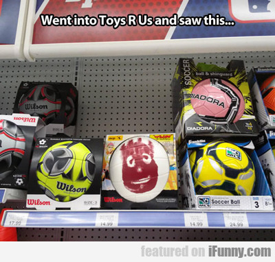 Went Into Toys R Us And Saw This...