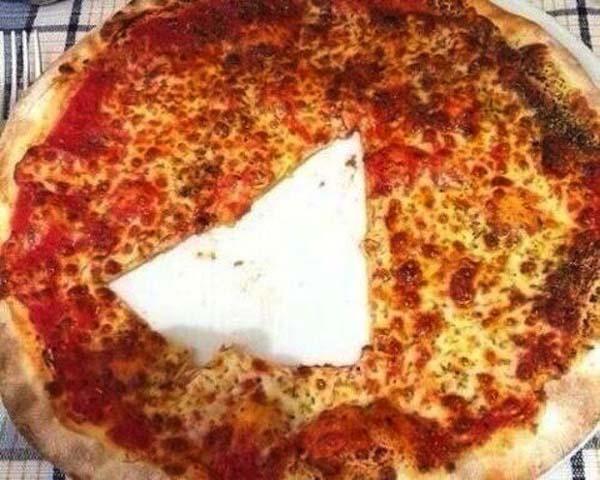 1.) That poor, innocent pizza...