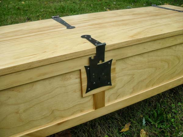 In fact, it looks like a finely crafted chest.