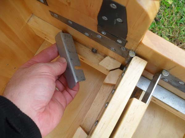 Each joint or bolt inside of the box has a purpose.