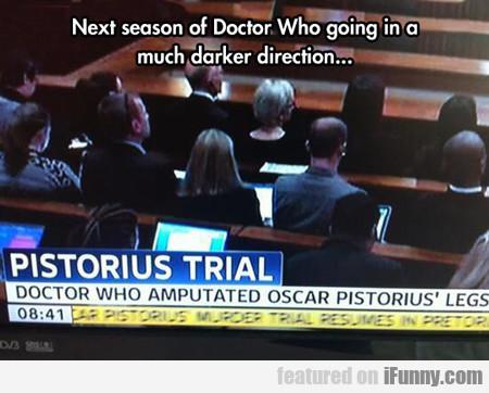 Next Season Of Doctor Who...