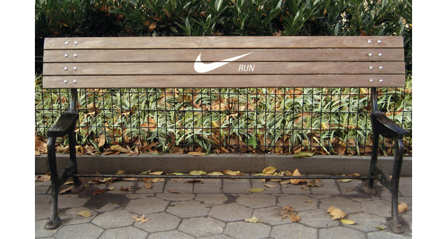 2.) Nike, encouraging physical activity.