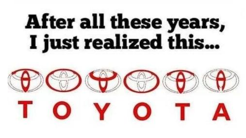 31. Toyota = Mind Blown.