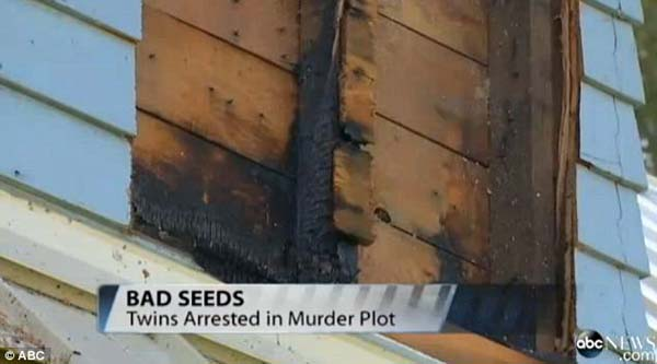 Firefighters found home-made explosives inside of the house.