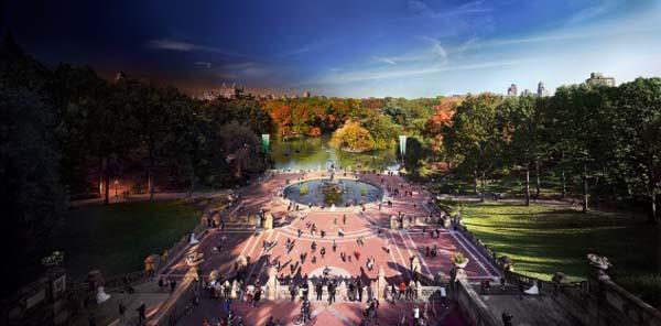 Bethesda Fountain, Central Park, New York City