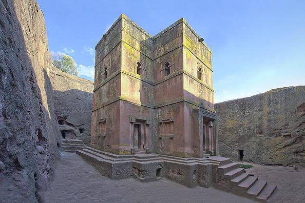 Biete Ghiorgis, Lalibela, Ethiopia