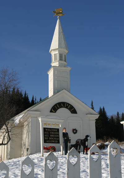Dog Chapel, Saint Johnsbury, Vermont, US