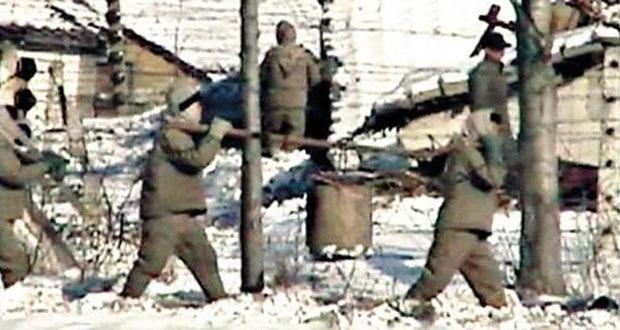 2.) Camp 22, North Korea.