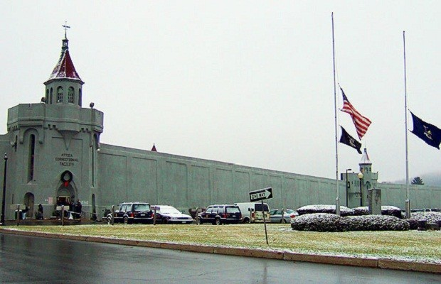 1.) Attica Correction Facility, Attica NY.