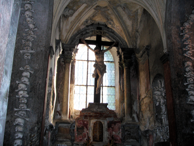 2.) Sedlac Ossuary, Czech Republic