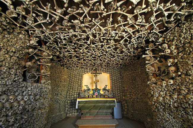 "3.) Czermna ""Skull"" Chapel, Poland."