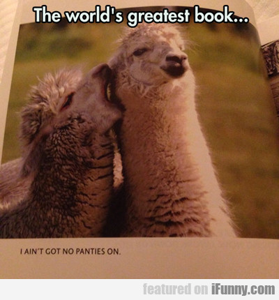 The World's Greatest Book...
