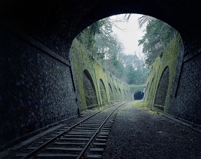 14.) 160 year old abandoned Paris railway, yup!