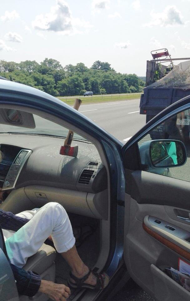 It's more dangerous to ride in the passenger's side of a car for a reason. This isn't it.