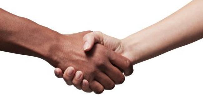 2.) Three-Part Handshake - Botswana