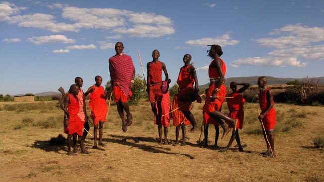 7.) Spitting - Maasai Cultures