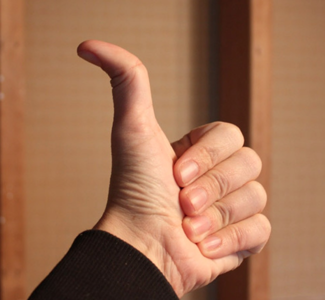 11.) Pressing Thumbs - Zambia